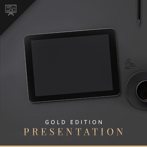 Presentation Gold blackgold